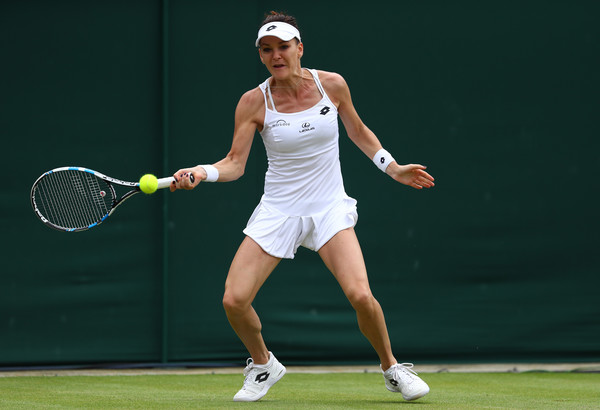 Agnieszka Radwanska in action at the Wimbledon Championships last year | Photo: Julian Finney/Getty Images Europe