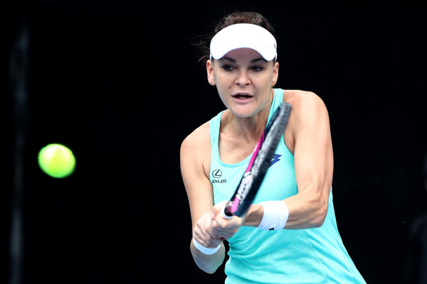 Agnieszka Radwanska in action during her quarterfinal match | Photo: Phil Walter/Getty Images AsiaPac