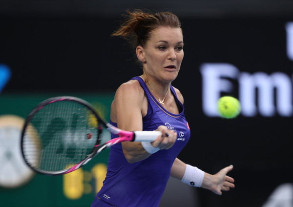 Agnieszka Radwanska had a poor performance | Photo: Mark Kolbe/Getty Images AsiaPac