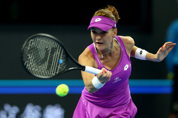 Agnieszka Radwanska in action at the China Open | Photo: Emmanuel Wong/Getty Images AsiaPac