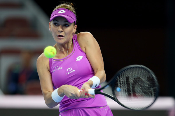 This was Radwanska's supposed last tournament of the year | Photo: Emmanuel Wong/Getty Images AsiaPac