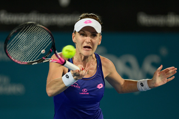 Agnieszka Radwanska reached the final of the Sydney International earlier this year | Photo: Brett Hemmings/Getty Images AsiaPac