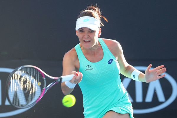 Agnieszka Radwanska failed to find her groove throughout the encounter | Photo: Pat Scala/Getty Images AsiaPac