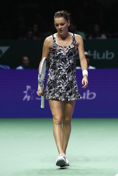 Radwanska at the 2016 WTA Finals | Photo: Julian Finney/Getty Images AsiaPac