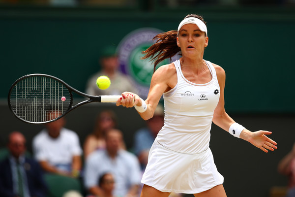 Agnieszka Radwanska in action at the Wimbledon Championships | Photo: Clive Brunskill/Getty Images Europe