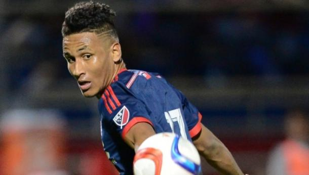 New England will be hoping that Juan Agudelo can be the difference for them against Toronto | Source: mlssoccer.com