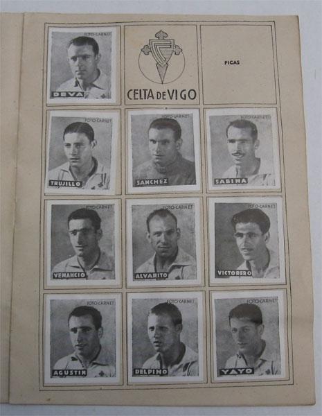 En la temporada 1942/43 el Celta terminó la liga en quinta posición (Foto: futboldesiempreydehoy.blogspot.com)