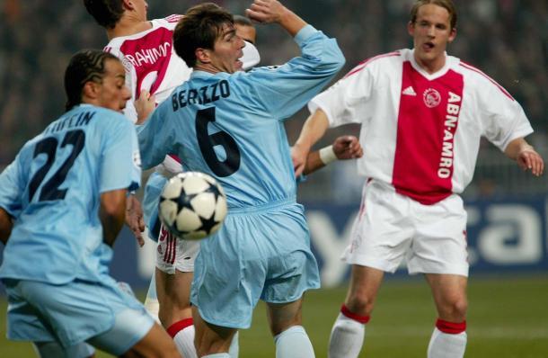 Berrio y Luccin en el último enfrentamiento ante el Ajax I Foto: moiceleste