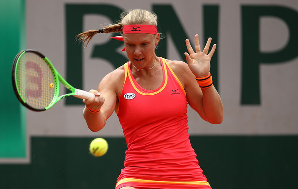 Kiki Bertens progresses to the second round | Photo: Julian Finney/Getty Images Europe