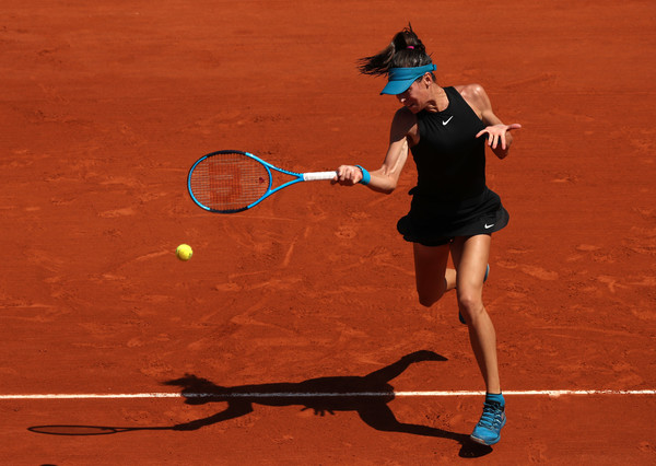 Ajla Tomljanovic made a thunderous start but failed to capitalize on her chances | Photo: Matthew Stockman/Getty Images Europe