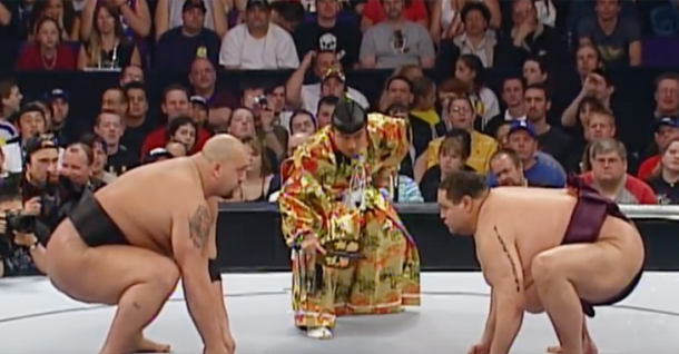 Big Show lost to Akebono in a sumo match at WrestleMania 21 (image: BjPenn)