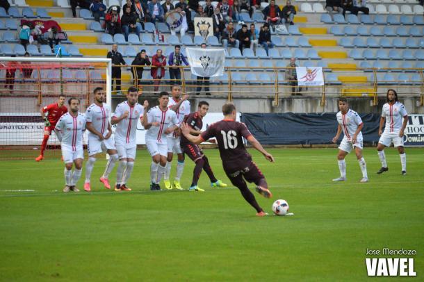 Gol de Isaac Aketxe | Foto: Jose Mendoza