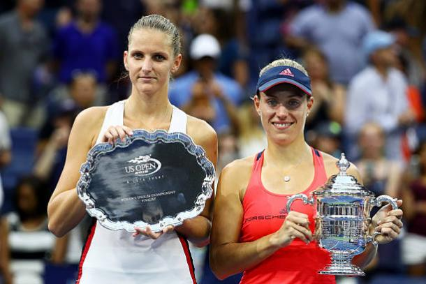 Pliskova lost to Angelique Kerber in her maiden Grand Slam final at the US Open last year (Getty/Al Bello)