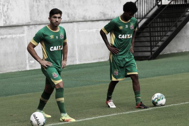 Andrey e Alan Cardoso devem voltar a receber chances nas próximas partidas (Carlos Gregório Jr/Vasco.com.br)