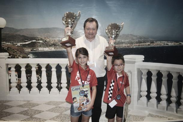 Alba Barranco y Javier Habans. Foto: FEDA.