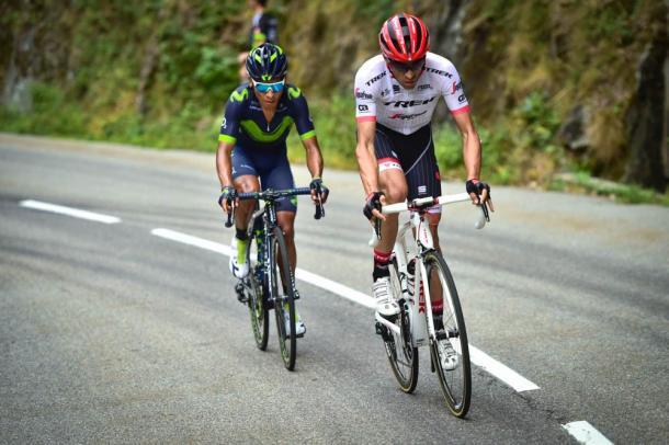 Alberto Contador atacó en la Croix de Fer. | Foto: TDF