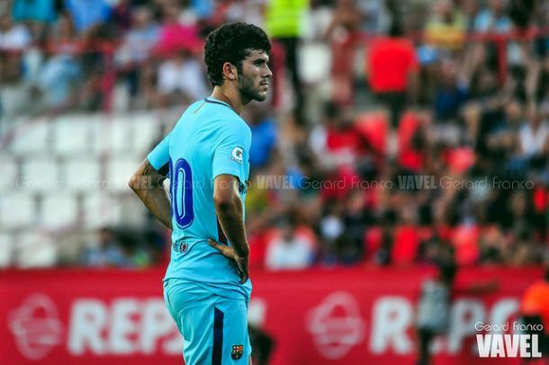 Carles Aleñá, la gran esperanza | Foto: Gerard Franco - VAVEL