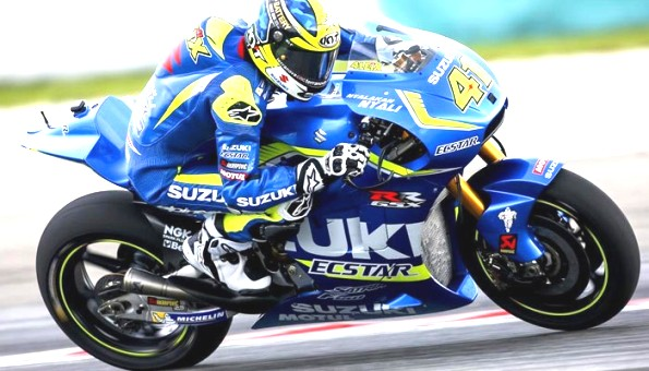 Aleix Espargaro aboard his Team Suzuki Ecstar GSX-RR - www.morebikes.co.uk