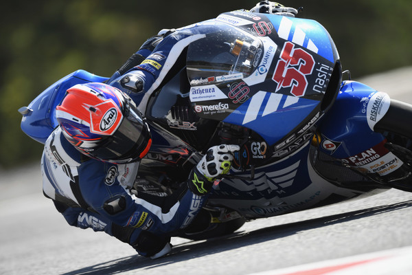 Alejandro Medina en su debut en Moto2 | Foto: Getty Images