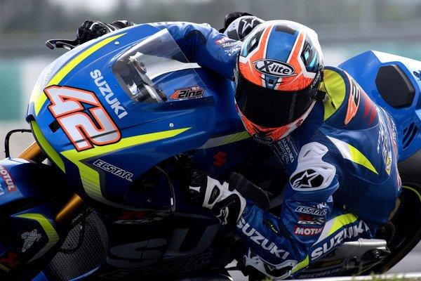 Alex Rins en los test de Mugello. Foto: Suzuki Oficial