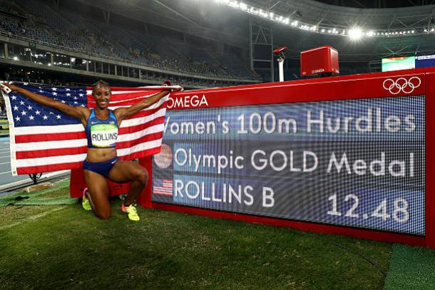 Olympic champion Brianna Rollins banned for a year for anti-doping violations