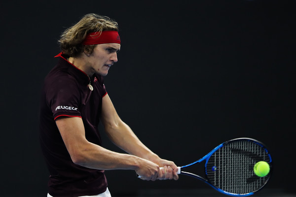 Alexander Zverev in action | Photo: Lintao Zhang/Getty Images AsiaPac