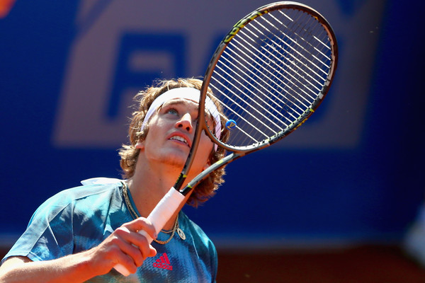 Alexander Zverev in BMW Open action. Photo: Alexander Hassenstein/Getty Images