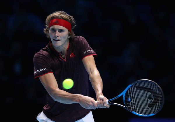 Alexander Zverev in action during his first-ever London campaign | Photo: Julian Finney/Getty Images Europe