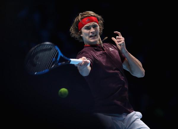 Alexander Zverev's forehand was firing today | Photo: Julian Finney/Getty Images Europe