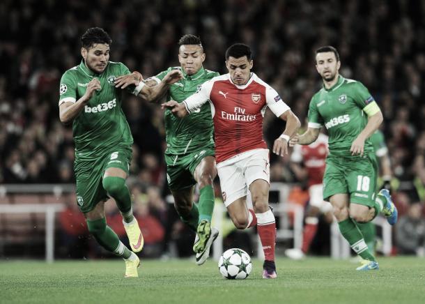 Alexis volvió a abrir el marcador de los Gunners. (Foto: Web Oficial)
