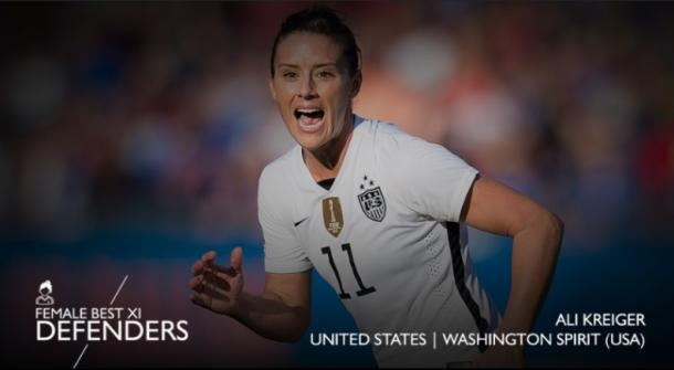 Ali Krieger (Photo by CONCACAF.com)