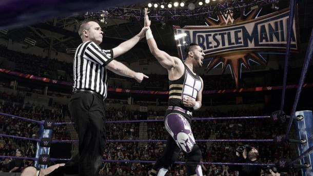 Ali progressed to the main event. Photo-WWE.com