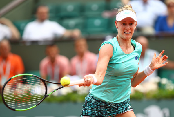 Alison Riske's forehands were the highlight of her game today | Photo: Cameron Spencer/Getty Images Europe