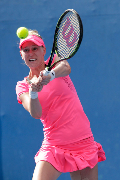 Alison Riske at Melbourne Park in 2016 | Photo: Darrian Traynor/Getty Images AsiaPac