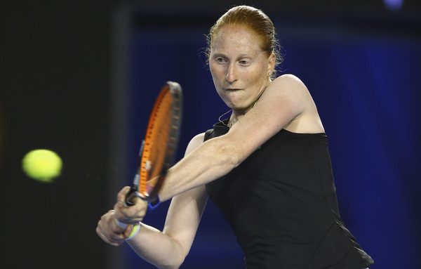 Alison Van Uytvanck failed to take her chances in the second set | Photo: Ryan Pierse/Getty Images AsiaPac