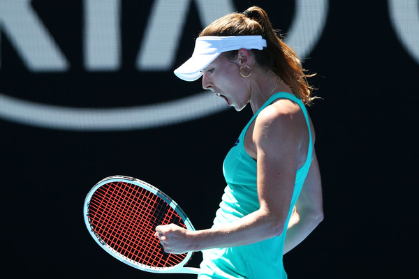 Alize Cornet will look to cause the huge upset here in Madrid | Photo: Michael Dodge/Getty Images AsiaPac