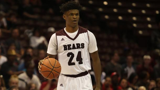 Johnson is a force down low for Missouri State/Photo: Missouri State athletics website