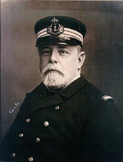Almirante Pascual Cervera y Topete hacia 1893 (Wikipedia, DP)
