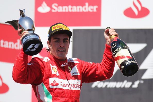 Fernando Alonso venceu o último GP da Europa, em 2012 (Foto: Mark Thompson/Getty Images)