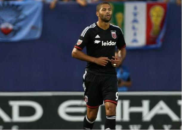 Álvaro Saborio will need to step up for the injured Fabían Espíndola on Saturday against the New England Revolution. Photo provided by Adam Hunger.