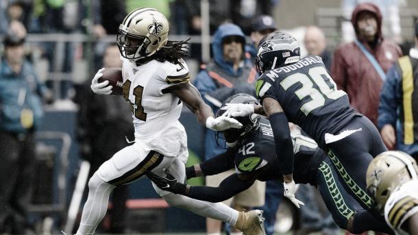 Kamara fue figura ante Seahawks e ingresa nuevamente al Power Ranking (Imagen: NFL.com)