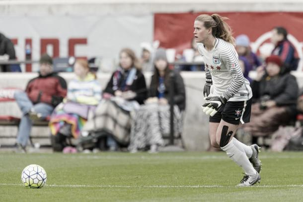 Alyssa Naeher has been the backbone for the Red Stars. (Photo credit: Chicago Red Stars)