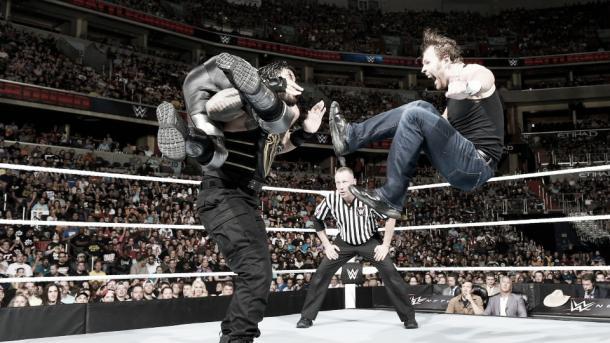 Reigns, Rollis y Ambrose Foto: www.wwe.com