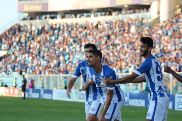 Daniel Amorim volta a ficar à disposição após três partidas (Foto: Frederico Tadeu/Avaí FC)