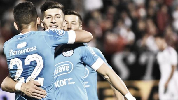 Amoroso no gritó el gol ante su ex equipo | Foto: Belgrano.