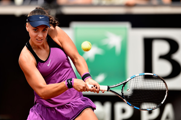 Ana Konjuh earlier this year in Rome/Dennis Grombkowski/Getty Images