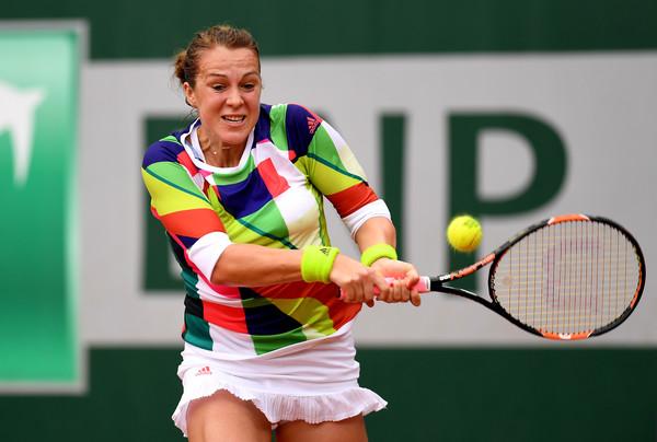 Anastasia Pavlyuchenkova in action at last year's French Open | Photo: Dennis Grombkowski/Getty Images Europe