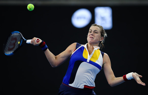 Anastasia Pavlyuchenkova in action at last week's China Open | Photo: Lintao Zhang/Getty Images AsiaPac