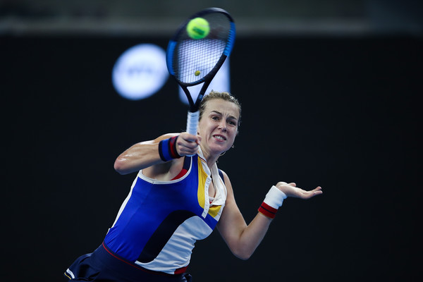 Anastasia Pavlyuchenkova in action at the China Open last week | Photo: Lintao Zhang/Getty Images AsiaPac