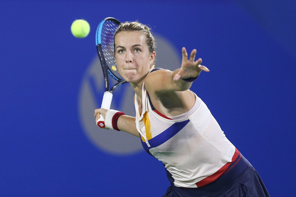 Anastasia Pavlyuchenkova moves onto the second round | Photo: Yifan Ding/Getty Images AsiaPac